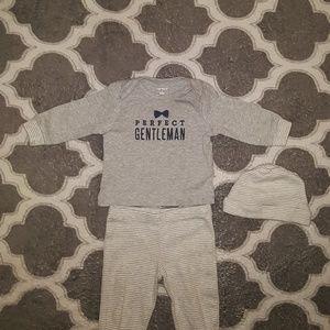 Newborn Baby Boy Indoors Or Outdoors Set Of 3